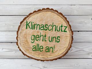 Baumstamm - Klimaschutz