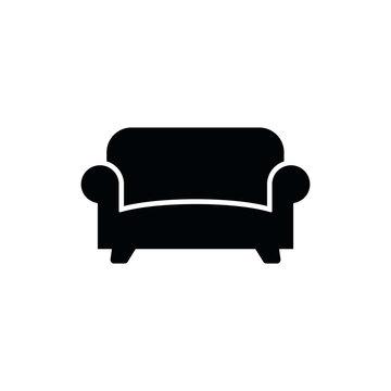 Sofa icon vector logo template