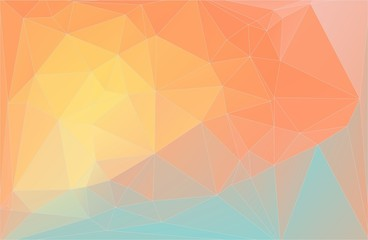 Flat triangle background for your design