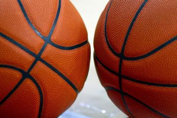 Pair of Basketballs 0723