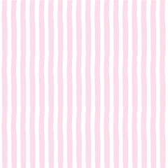 Stripes pattern design with Valentine  colors - funny  drawing seamless pattern with pink, rose colors white background. Lettering poster or t-shirt textile graphic design wallpaper, wrapping paper.