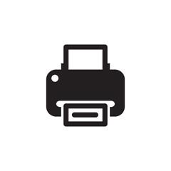 printer icon design vector logo template EPS 10