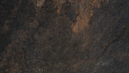 Black brown rusty stone slate tiles texture background