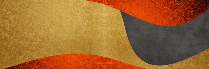 赤と金と黒の背景デザイン