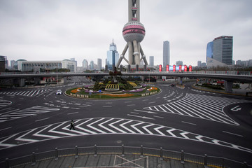 The Wider Image: As Chinese cities become ghost towns, some seek out the space