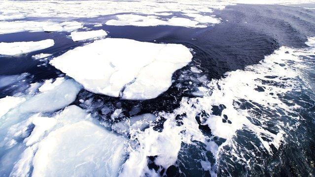 オホーツク海知床の絶景