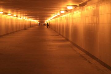 Underground pedestrian crossing.