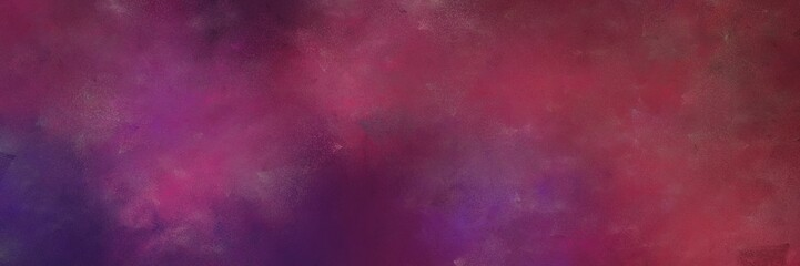 Türaufkleber Hochrote colorful distressed painting background texture with old mauve, dark moderate pink and very dark violet colors and space for text or image. can be used as background or texture