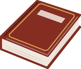 分厚いアンティークの本