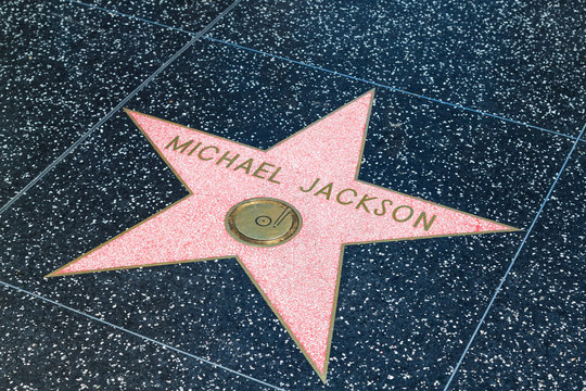 Michael Jacksons Stern auf dem Walk of Fame