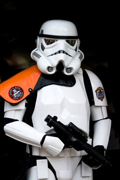 Star Wars Trooper at the Elf Fantasy Fair on April 25, 2010 in The Netherlands