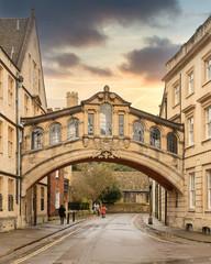 Bridge in a Oxford street