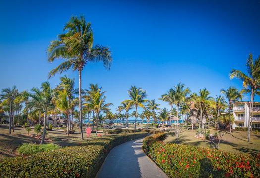Idyllic Caribbean Resort In Cuba