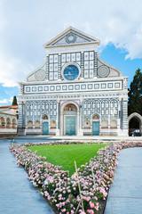Fototapete - Church of Santa Maria Novella in Florence, Tuscany, Italy