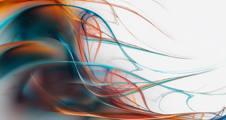 Wall Mural - Abstract bright background