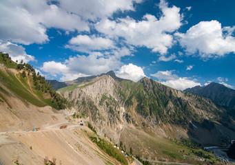 Zoji La Pass, Jammu and Kashmir, India