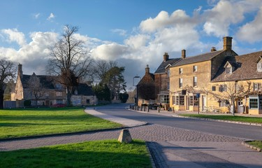 Cotswold village of Broadway, Worcestershire, England