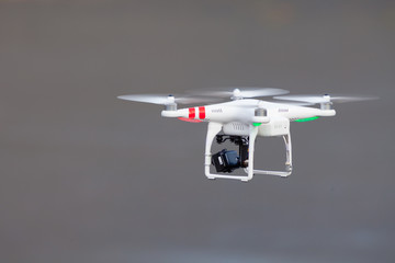 GDANSK, POLAND – MARCH 01, 2014: drone with camera