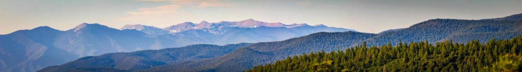 Printed roller blinds Panorama Photos Colorado mountain range panorama
