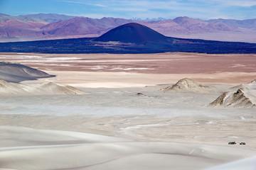 Volcano Carachi Pampa in the Puna de Atacama, Argentina