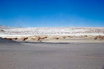 The pumice stone field at the Puna de Atacama, Argentina