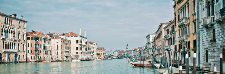 Fotorollo Venedig Panoramic view of the Grand Canal in Venice, Italy