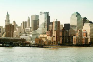 New York Skyline Across The Hudson River, New York