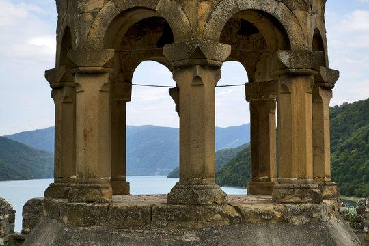 Georgia, Caucasus: Ananuri castle