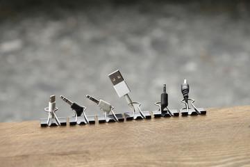 Lifehack; DIY Cable and Cord Organizer