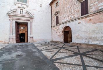 The churches of st. Maria Maggiore in the small village of Spello, Italy