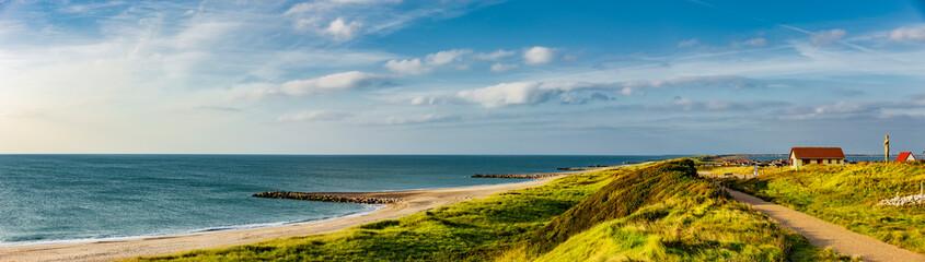 Küstenlandschaft bei Ferring, Dänemark Fotobehang