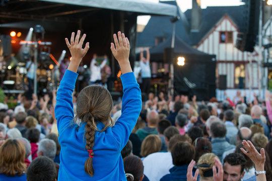 ambiance festival musique concert Vannes en Bretagne