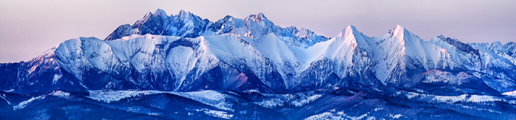 Winter Tatras. Poland.