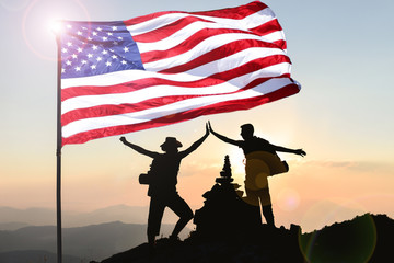 Time for victory, peace and success for the leading country America
