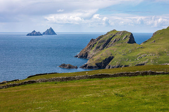 Skellig Michael island made famous in star wars movie