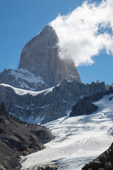 fitz roy mountain in argentina