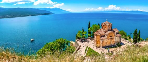 Ohridsee und Sveti Jovan Fototapete