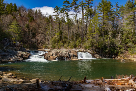 Linville Falls, North Carolina, USA