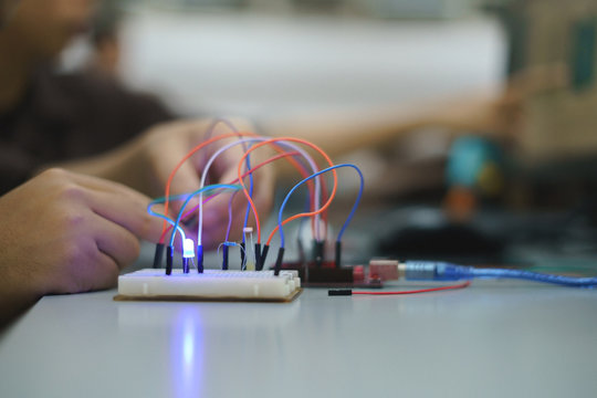 Iot development kit for educational science experiment
