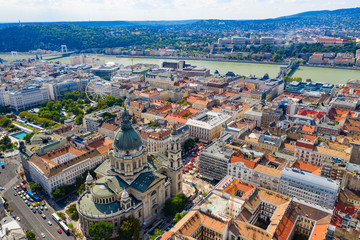 The famous Basilica in central Budapest