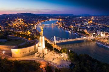 Budapest city panorama