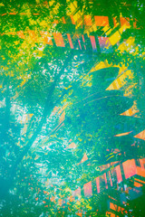 botanical abstract background