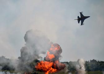 Aerial bombardement
