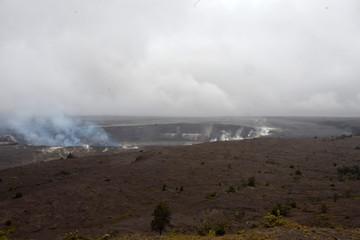 Volcanic landscape Big Island