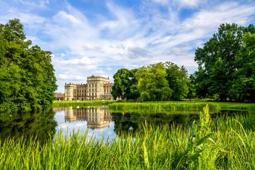 Fototapete - Schloss in Ludwigslust, Mecklenburg-Vorpommern, Deutschland