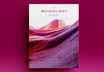 Lifestyle Brochure Layout