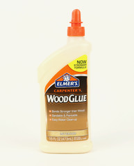 Bottle of Elmer's interior wood glue