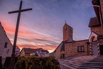 Katholische Kirche Sankt Maximilian Maria Kolbe in Darlowko