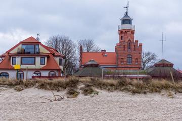 Leuchtturm in Stolpmünde Westpommern