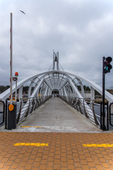 Schwenkbrücke in Stolpmünde  bei Ostsee